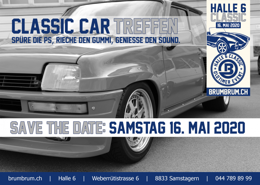 Save the Date: Halle 6 Classic 2020